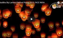 Buddha Sky Lantern Festival Promo 2015, by FACE INDIA